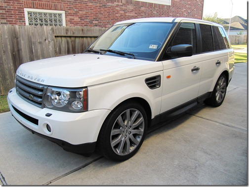 modifications to a 2008 white land rover range rover sport hse safeer 39 s blogs. Black Bedroom Furniture Sets. Home Design Ideas