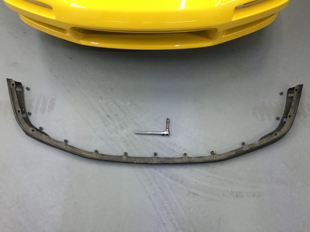 Acura NSX OEM Front Lip Removal