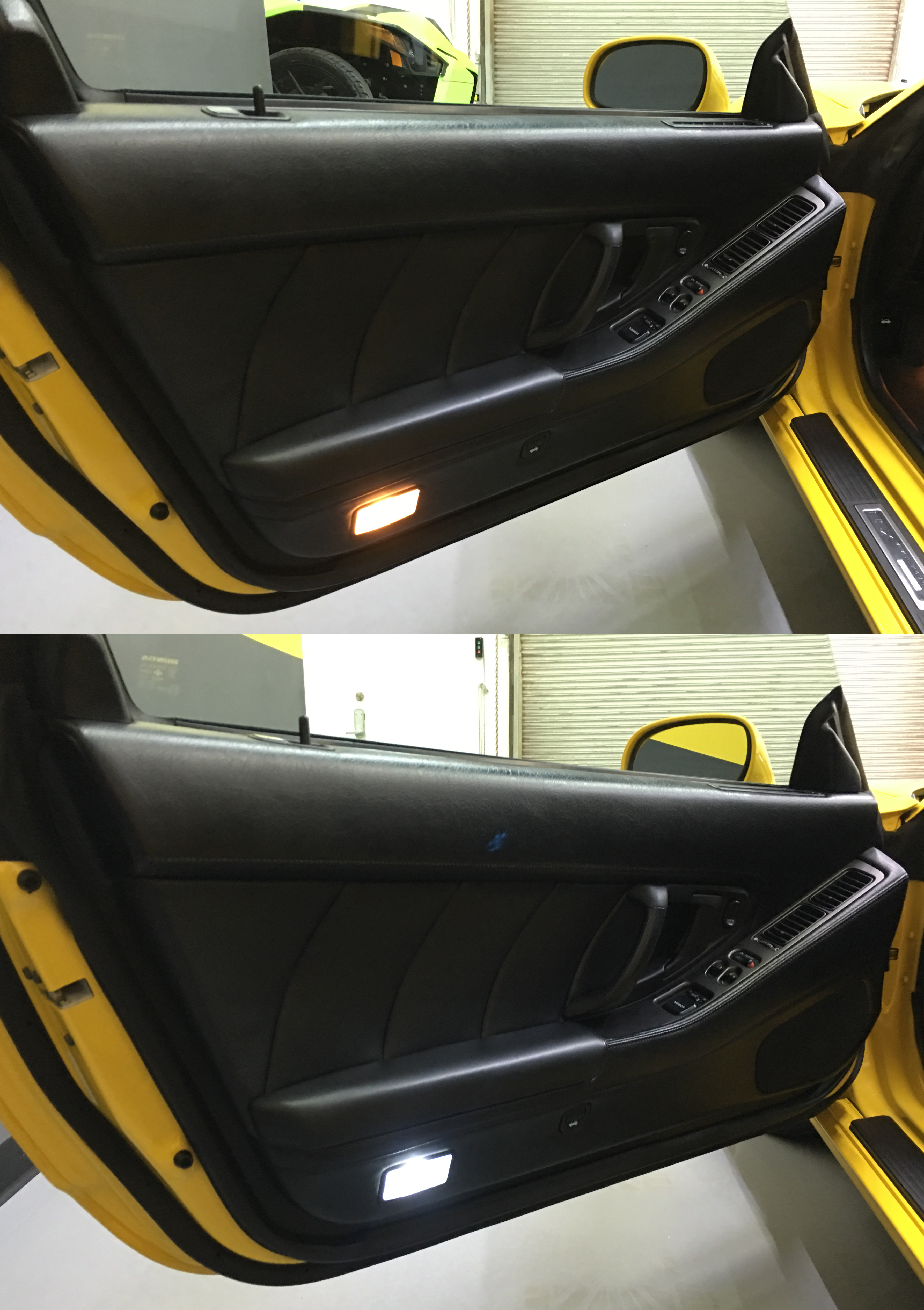 door panel ikonik led kit