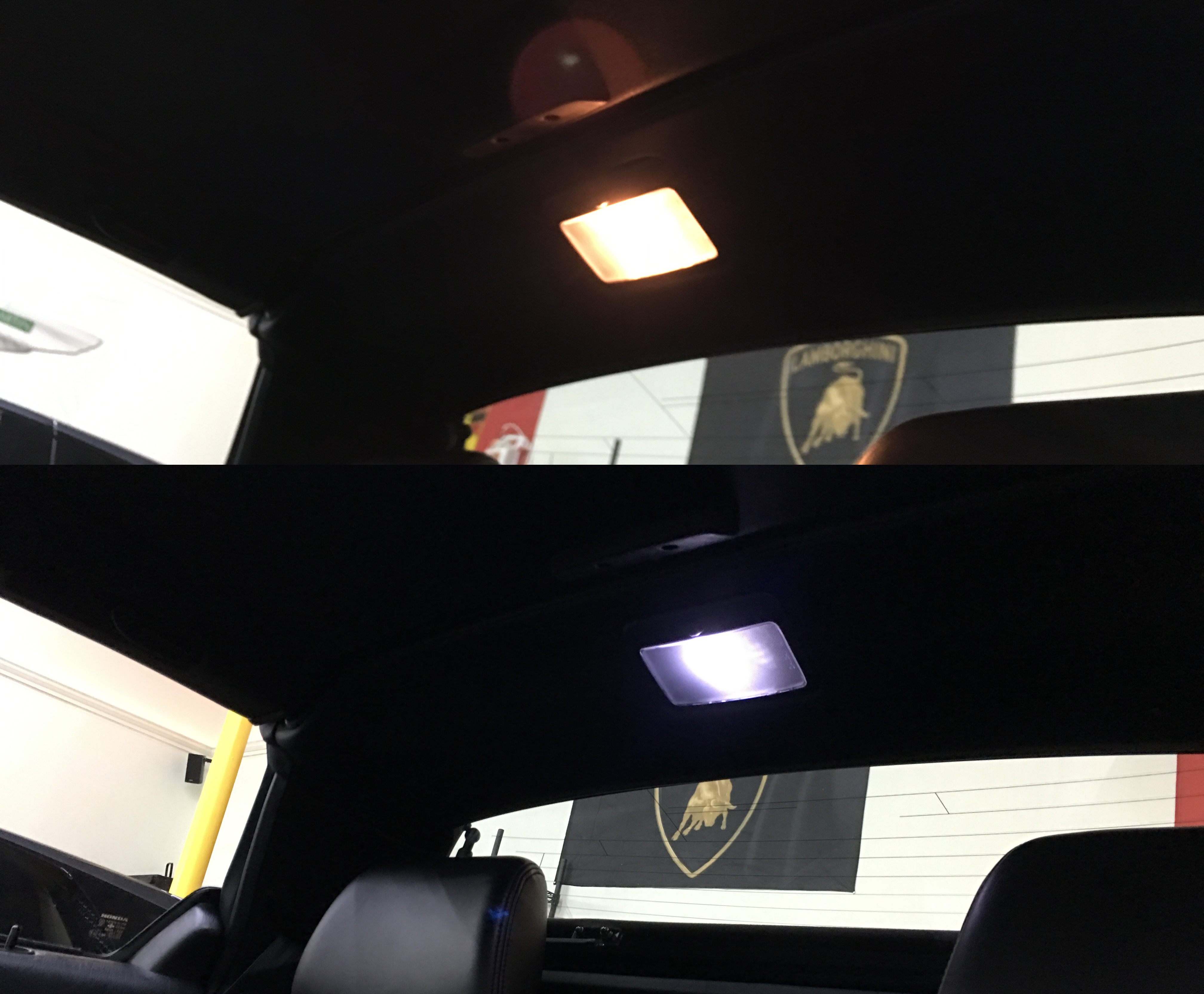 acura nsx map light led by ikonik